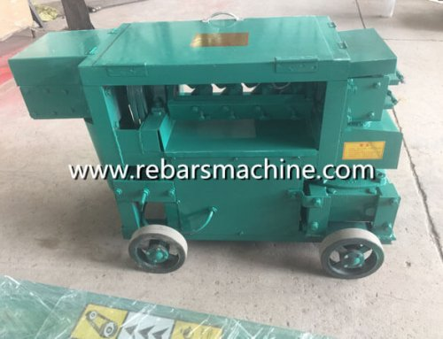 Delivery MY5-12 bar straightening machine Dominica