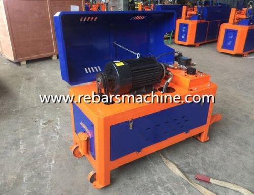 Delivery GT4-12 straightening cutting machine Kenya
