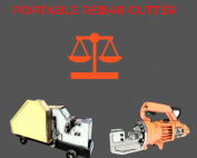 reabr cutting machine vs portable rebar cutter