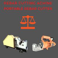 reabr cutting machine vs portable rebar cutter