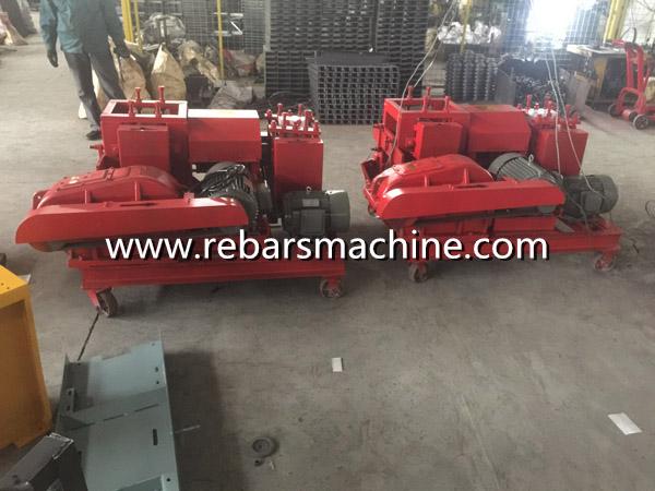 rebar coil straightening machine