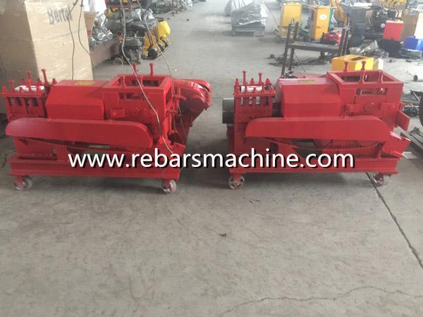rebar steel bar straightening machine