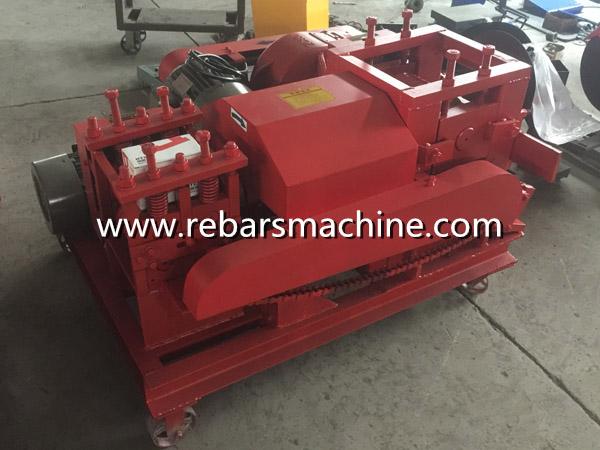 rebar straightening and cut machine