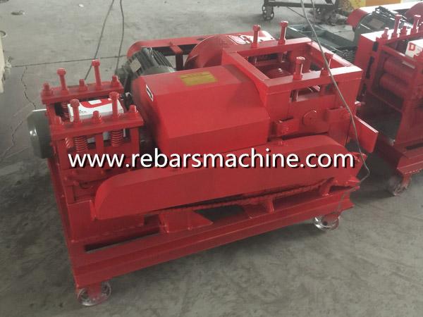 rebar straightening machine Libya
