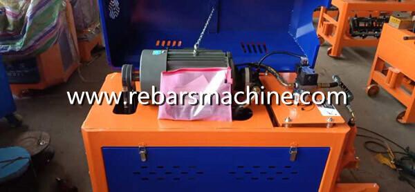 rebar straightening cutting machine