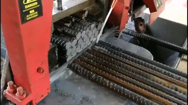 steel rod cutting bandsaw