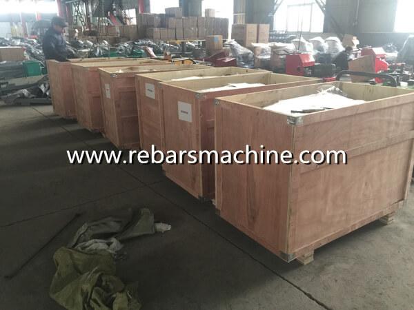 rebar scrap steel straightening machine package