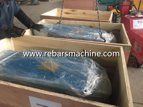 scrap rebar straightening machine package
