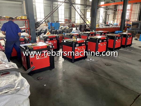 220V rebar bending machine Brazil
