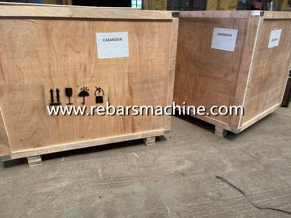 Delivery rebar bending machine Brazil