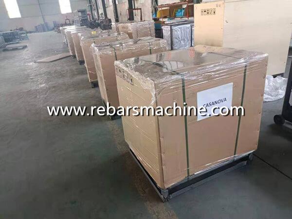 rebar bending machine delivery