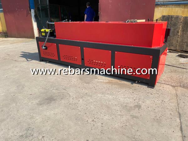 rebar straightening cutting machine USA