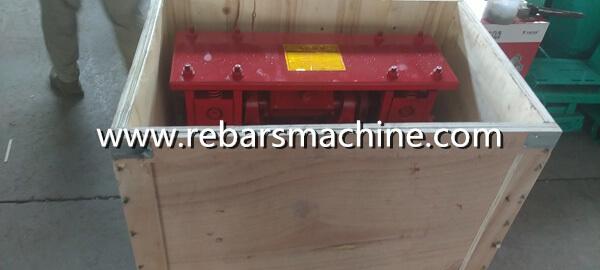 wire scrap straightening machine